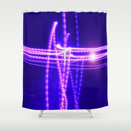 I Am the Light of the World, the Truth Shall Make You Free Shower Curtain