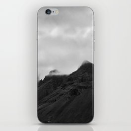 Icelandic mountains iPhone Skin