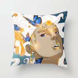 Butterflies Amazon Throw Pillow