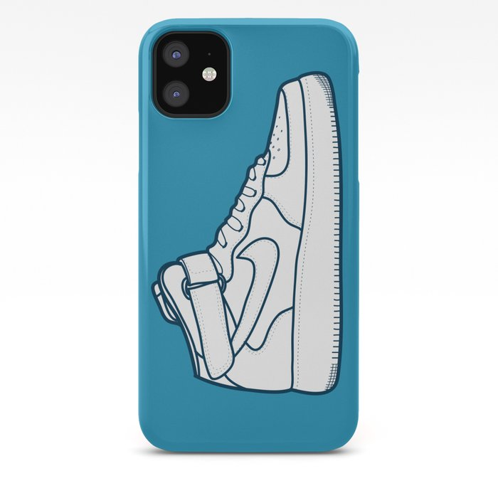 #13 Nike Airforce 1 iPhone Case by brownjames
