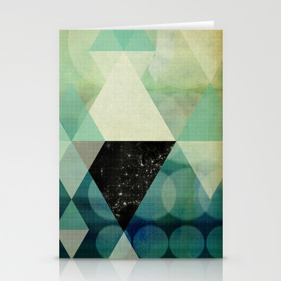 GEOMETRIC 003 Stationery Cards