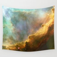 nasa Wall Tapestries featuring Bright nebula galaxy stars sagittarius constellation hipster geek cool space star nebulae NASA photo by iGallery