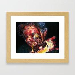 Insatiable! Framed Art Print