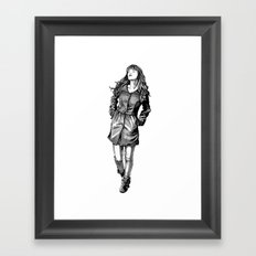 Fabulous Hair Framed Art Print