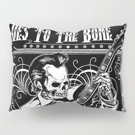 Blues to the Bone Rockabilly Pillow Sham