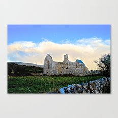Corcomeroe Abbey Canvas Print