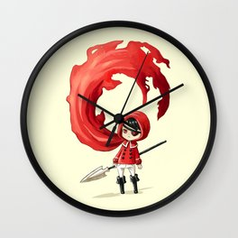 Red Cape Wall Clock