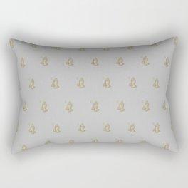 6 God - Heather Rectangular Pillow