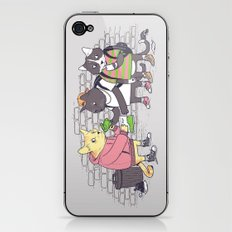 Meowy Wowy iPhone & iPod Skin