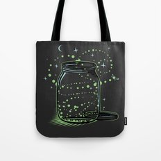The Empty Jar of Fireflies Tote Bag