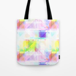 Geometric Splash Tote Bag