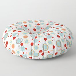 Poster Background   Circles Theme Floor Pillow