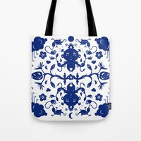 jungle Tote Bags featuring JUNGLE by RUEI