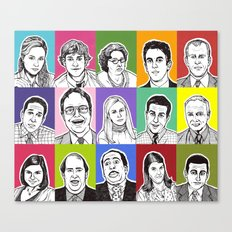 The Office Canvas Print