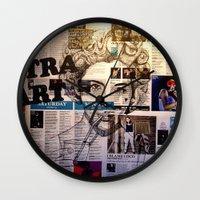 marina Wall Clocks featuring MARINA by Aidan Reece Cawrey