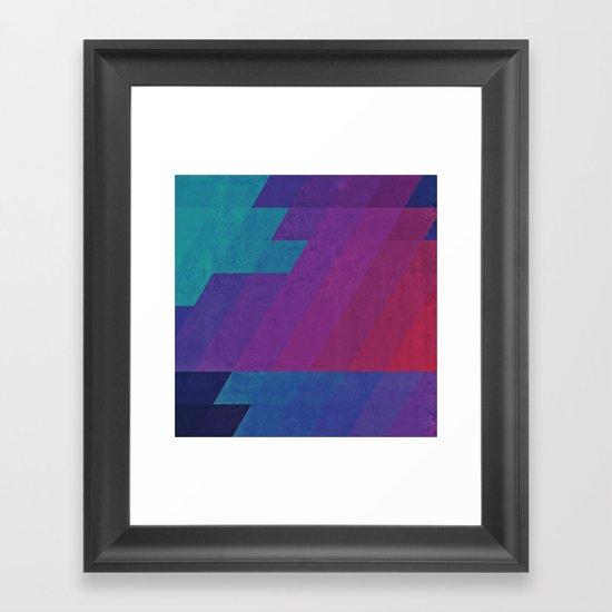 lyctryc hyryzyn Framed Art Print
