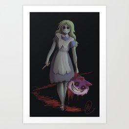 Bad Alice Art Print