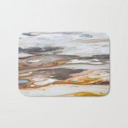 Yellowstone National Park - Thermophiles, Norris Geyser Basin Bath Mat