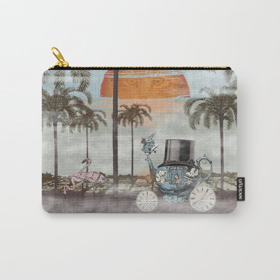 Alice Goes to California Carry-All Pouch