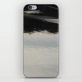 stone skimming iPhone Skin