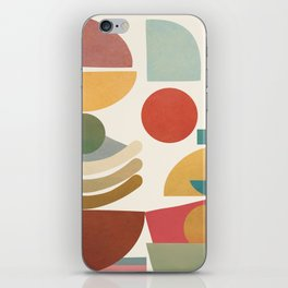 Modern Abstract Art 77 iPhone Skin
