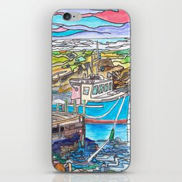 Nova Scotia Boats iPhone Skin