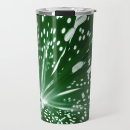 Lily Infrared In Green Travel Mug