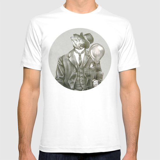 In which nothing says happy birthday like a fish in a suit T-shirt