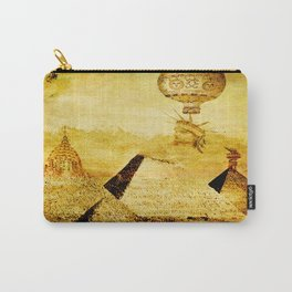 The transformation of pyramids Carry-All Pouch