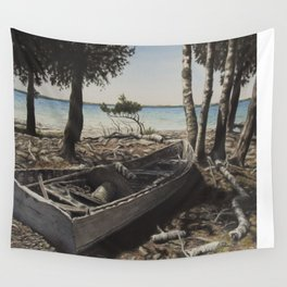 Hunyati's Boat Wall Tapestry