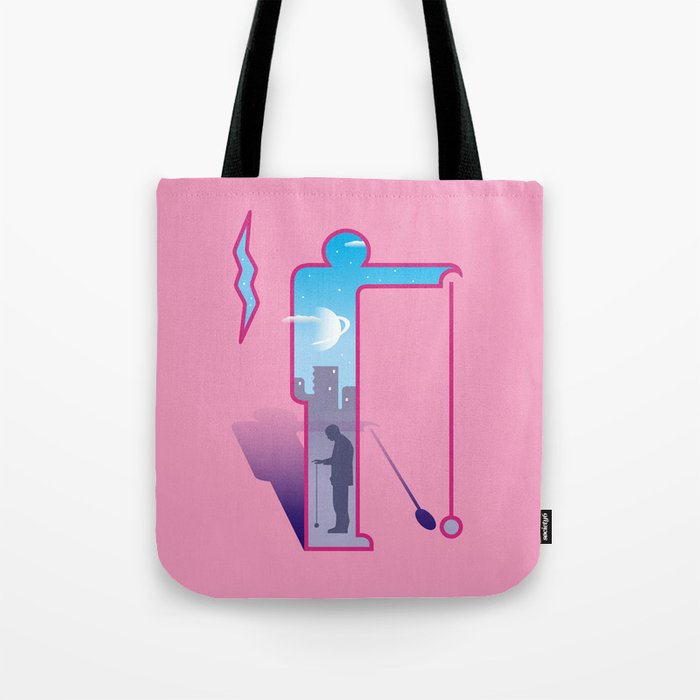 Dimension ~ Sign / Yo-yo Tote Bag
