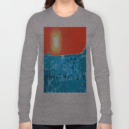 Desert Sky, Sea Land Long Sleeve T-shirt