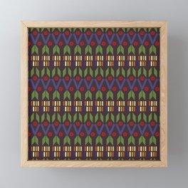Aztec Print (Patterns Please) Framed Mini Art Print