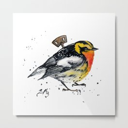 Wind Up Mini LXVIII Metal Print