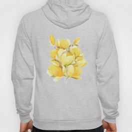Yellow Magnolia Spring Bloom Hoody