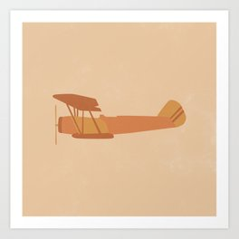 Vintage Plane Art Print
