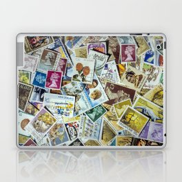 Postage Stamp Collection Laptop & iPad Skin