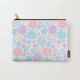 Abstract Pattern Made With Colorful Shapes Carry-All Pouch