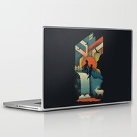 50s Laptop & iPad Skins featuring Jump In by The Child