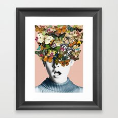 Twiggy Surprise Framed Art Print