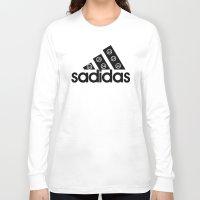 sad Long Sleeve T-shirts featuring Sad by loveme