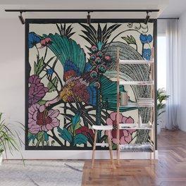 """Bird of Paradise"" by Margaret Preston Wall Mural"