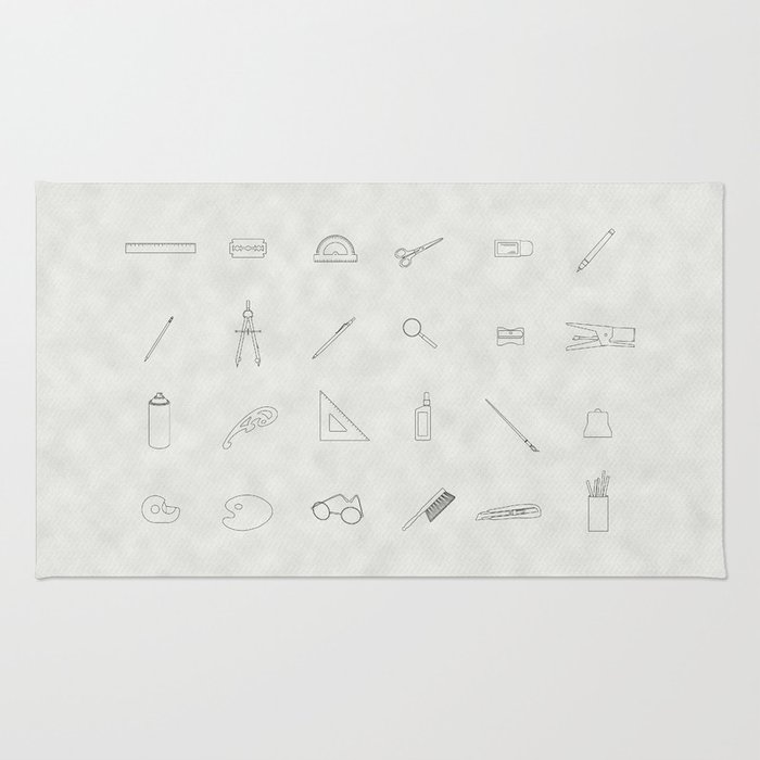 Drawing tools Rug