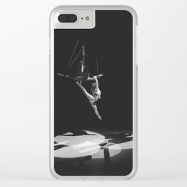 Aerial Splits Clear iPhone Case