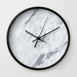 Gray Marble #2 Wall Clock