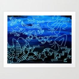Fabrication of Atlantia Art Print