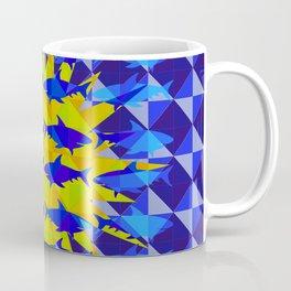 Blue Shark Sun Coffee Mug