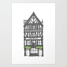 The George Pub London Art Print