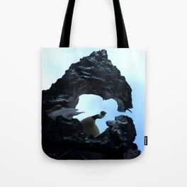 Goose Heart Tote Bag