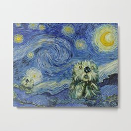 Starry Monterey Night (for Mikaela) Metal Print
